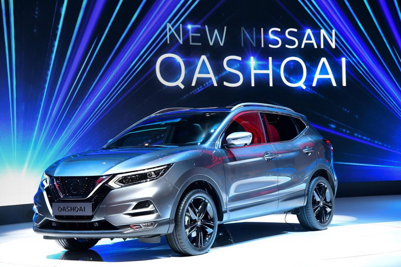 Nowy wizerunek - Nissan Qashqai 2018