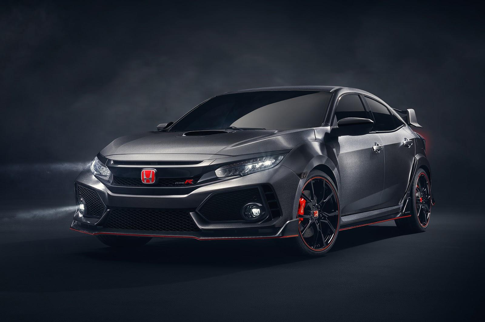 Honda Civic Type R bez tajemnic