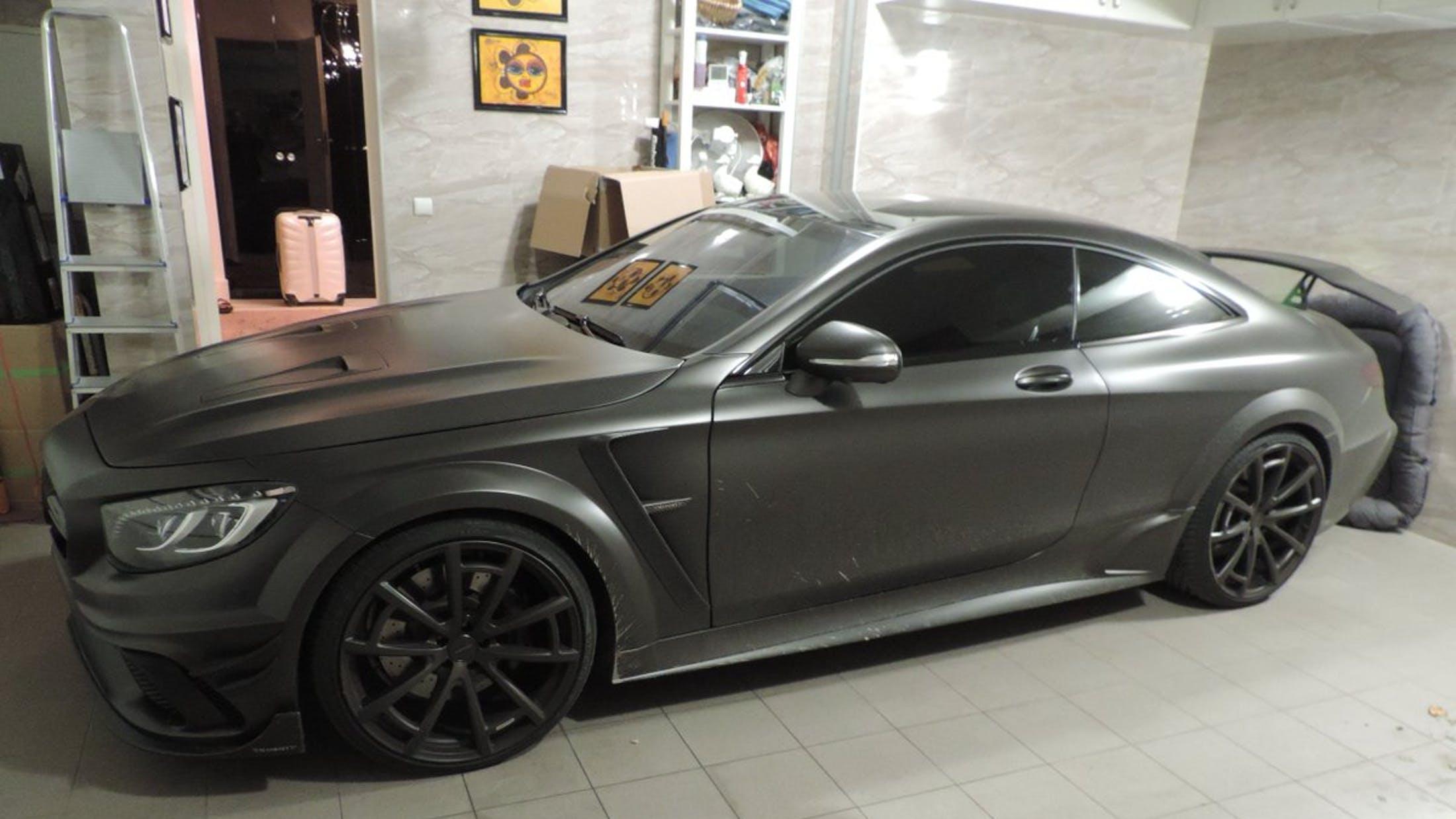 Polski rząd skonfiskował Mercedesa S63 AMG Coupe Black Edition Mansory