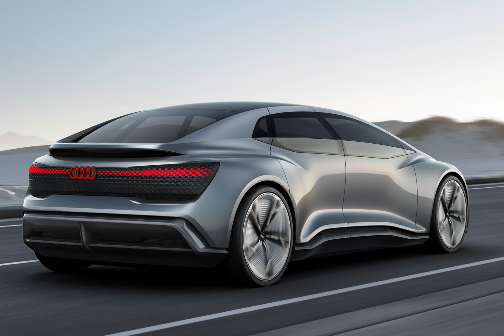 Bez kierownicy i pedałów - Audi Aicon