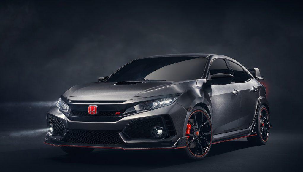 Honda civic type-r 2018