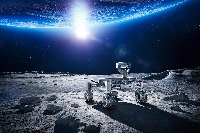 Audi leci na księżyc